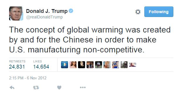El cambio climático es real y es nuestra culpa