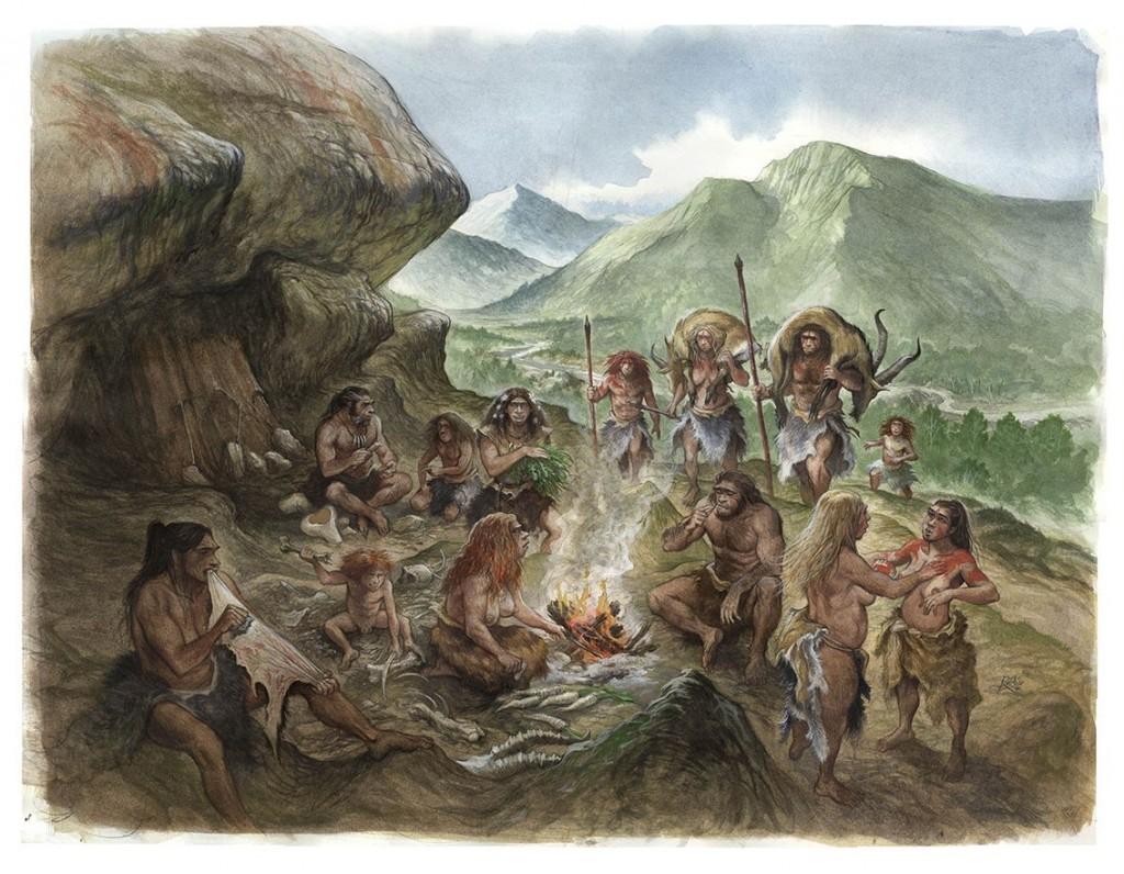 neanderthales aspirina